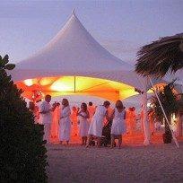 BBQ party tent-op-het-strand-300x204